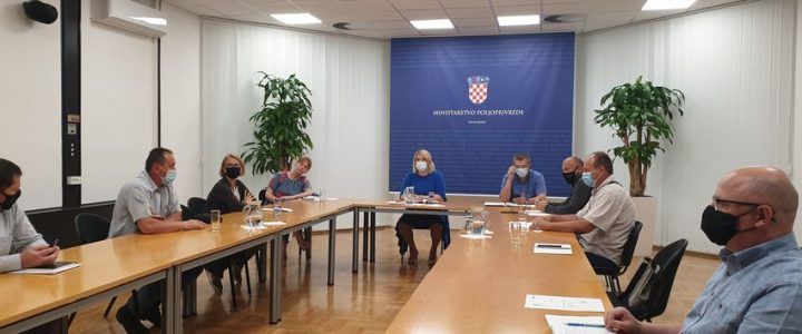 Sastanak u Ministarsvu poljoprivrede povodom rasprave o novom akcijskom planu ekološke proizvodnje